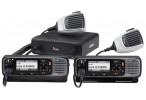 Série IC-F5400D avec double tête de commande et microphone HM-220