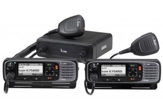 Série IC-F5400D avec double tête de commande et microphone HM-221
