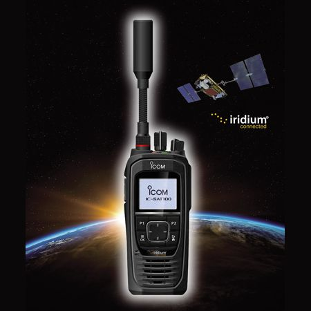 IC-SAT100 La radio satellitaire