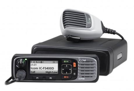 Série IC-F5400D avec face avant déportée et microphone HM-220
